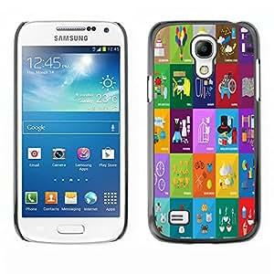 Dragon Case - FOR Samsung Galaxy S4 Mini i9190 - treat the life - Caja protectora de pl??stico duro de la cubierta Dise?¡Ào Slim Fit