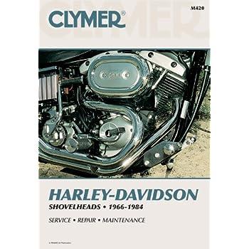 amazon com clymer repair manual m420 automotive rh amazon com Harley-Davidson Flathead Harley-Davidson Ironhead Engine