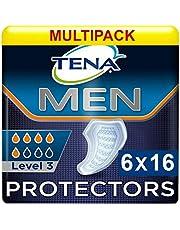Tena Men Level 3 – discrete inleg – bij middelzware incontinentie – 27,5 x 23 cm – 96 stuks
