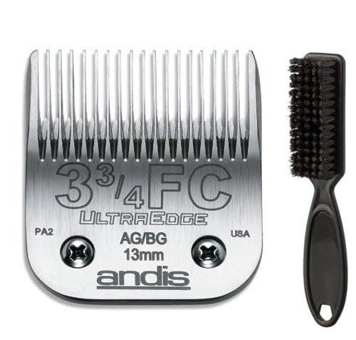 Andis Ultra Edge 3 3/4FC Clipper Blade with a Blade Brush by Andis