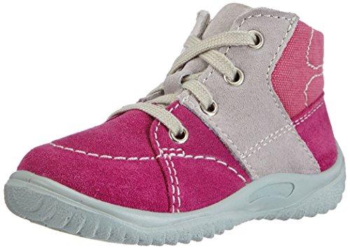 Richter Kinderschuhe Mogli 0421-521 Baby Mädchen Lauflernschuhe Pink (fuchsia/rock  3501)