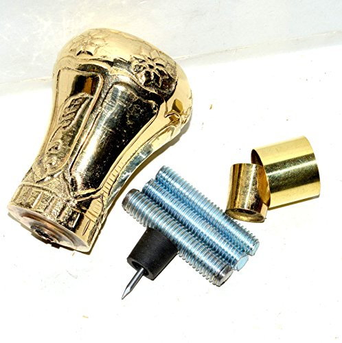Nautical Gift Decor Solid Brass Replica of Bat Masterson Brass Knob Handle Walking Cane