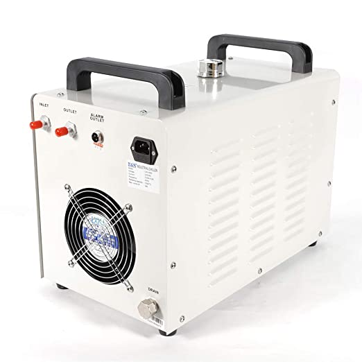 PRIT2016 9L Agua Enfriador Industrial 10L/min de Agua Chiller Enfriador para CNC láser de grabado grabado máquinas Agua de Refrigeración Chiller 60 Tubo/80W ...