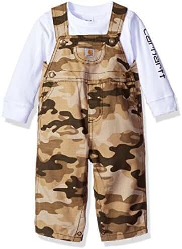 Carhartt Baby Boys' Overall Set