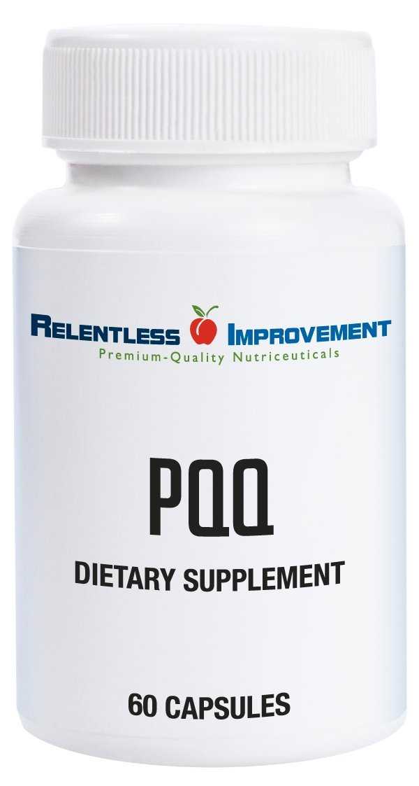 Relentless Improvement PQQ | NO Silicon Dioxide NO Magnesium Stearate NO Added Calcium