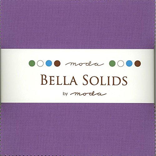 - Bella Solids Hyacinth Charm Pack 42 Squares 5