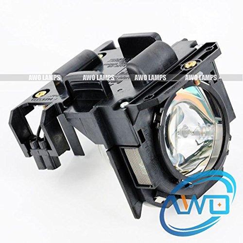 (AWO ET-LAD60A / ET-LAD60AW Replacement Bulb/Lamp with Housing for PANASONIC PANASONIC PT-D5000/D5000ES/D6000/D6000ELK/D6000ULS/D6710/DW530/DW6300/DW640/DW730ELS/DW740EK/DW740ES/DX610/DX800S)