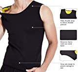 Men's Hot Sweat Vest Sauna Suit Tank Top Slimming