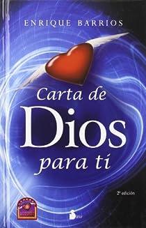 CARTA DE DIOS PARA TI par Barrios