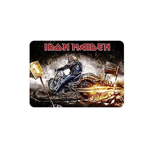 Mora color Iron Maiden tin Sign Vintage Metal Pub Club Cafe bar Home Wall Art Decoration Poster Retro 8x12 inches
