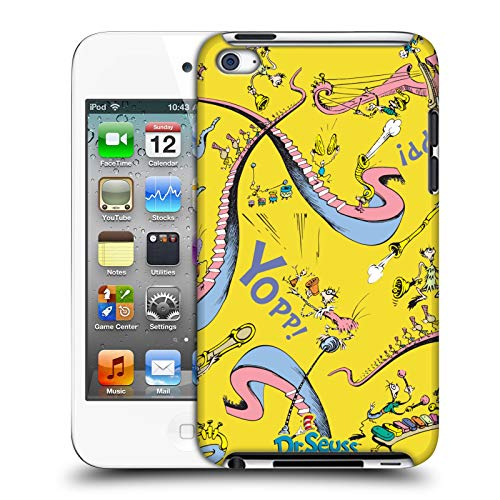 Official Dr. Seuss Whoville Horton Hears A Who Hard Back Case Compatible for Apple iPod Touch 4G 4th Gen (Dr Who Ipod 4)