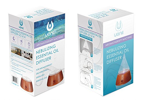 UONE Aroma Essential Oil Nebulizing Diffuser made from Wood
