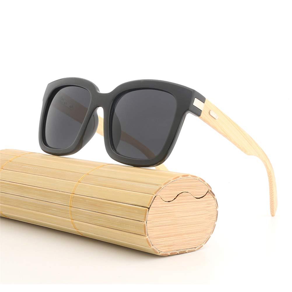 Amazon.com: AZB - Gafas de sol de madera de bambú para ...