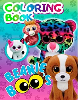 Beanie Boos Coloring Book  Favorite Toys of your Children are now in the… fa5584bcfdbe
