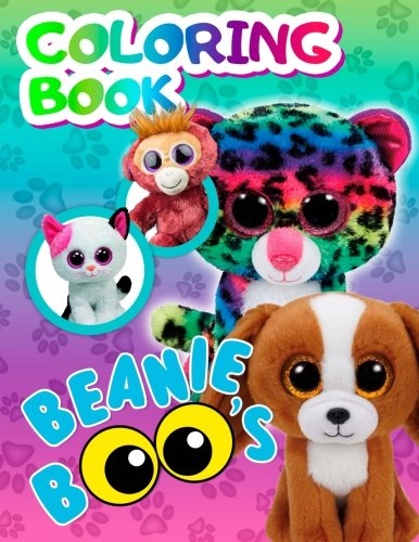 Beanie Boos Coloring Book: Favorite Toys of your Children are now in the Coloring Book