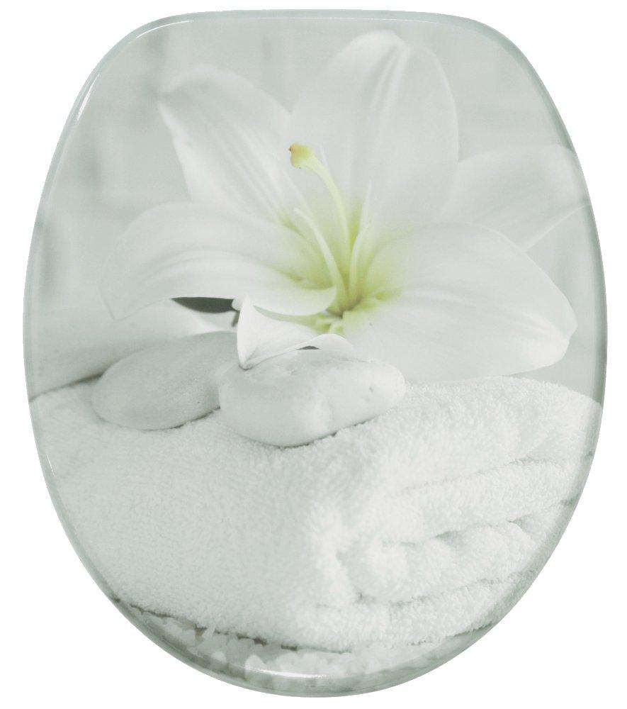 Abattant WC - Finition de haute qualité - Charnières robustes - Fixation facile - Bon Sentiment SANILO