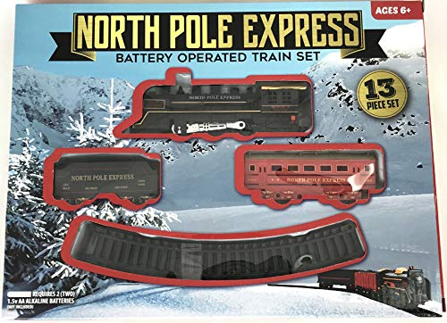 - Gener8 Express Battery Operated 13 Piece Train Set (North Pole Express)