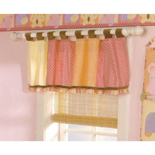 Baby Punch Tropical Bedding (CoCalo Tropical Punch Window Valance)