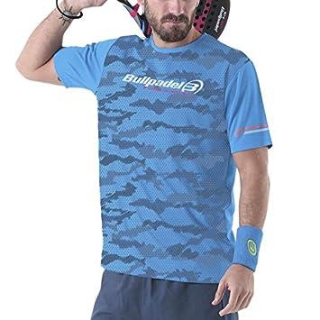 Bull padel Tores Camiseta, Hombre, Azul (424), L: Amazon.es: Deportes y aire libre