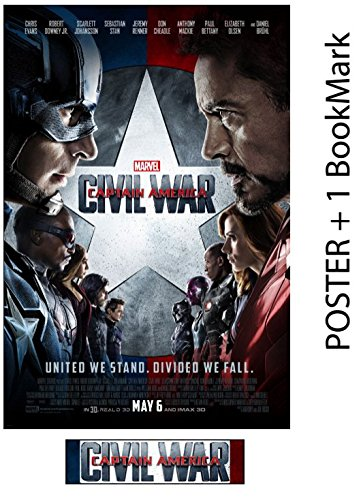 Captain America: Civil War - Movie Poster, Size 24 x 36