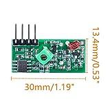 Oiyagai 3pcs 433MHz RF Wireless Transmitter and
