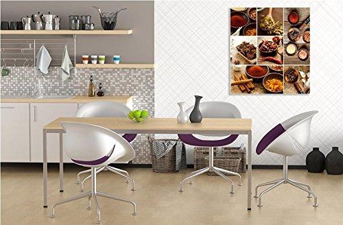 D/éco Murale Qualit/é HD Scenolia Tableau Verre Acrylique d/éco /& Design EPICES ET AROMATES 50 x 50 cm