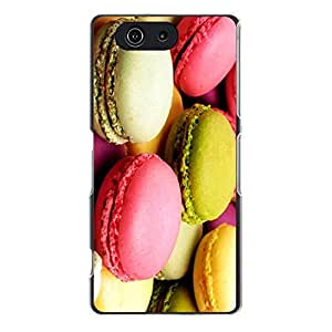Special Hybrid Macaron Phone Case Cover For Sony Xperia Z3 Compact/Z3 mini Macaron Unique Design