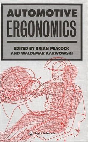 Automotive Ergonomics 1st Edition by Brian Peacock , Waldemar Karwowski  PDF Download