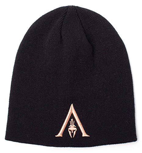 Assassins Creed Odyssey Beanie Hat Helmet Logo Official Ps4 Xbox Black