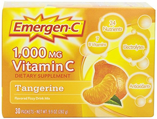 Emergen-C, Tangerine, 30 Count , Pack of 4 by Emer'gen-C