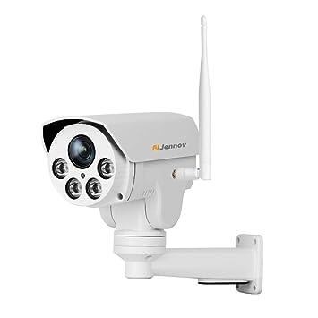 Cámara de Seguridad inalámbrica, 1080P Cámara inalámbrica WiFi PTZ Cámara de Video en casa IP