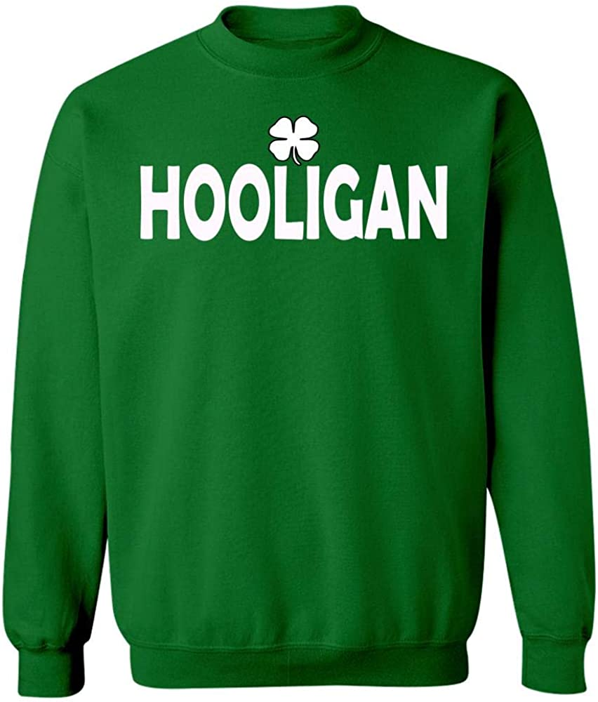 Sweatshirt Cool Apparel Shop Irish Hooligan for St Patricks Day
