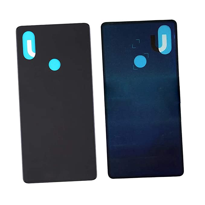 buy popular 676eb 72732 Amazon.com: Glass Back Battery Cover Door Case Housing Replacement ...