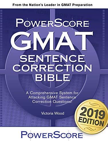 Pdf Test Preparation The PowerScore GMAT Sentence Correction Bible