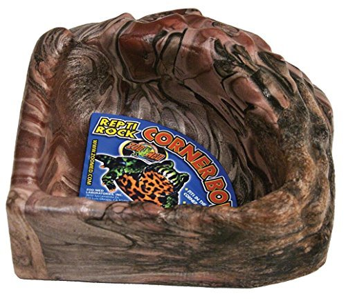 Zoo Med Reptile Rock Corner Water Dish, X-Large by Zoo Med (Corner Med Zoo)