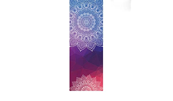 pilates Cayuan Toalla de Yoga Absorbente Antideslizante Esterilla de Yoga Microfibra Yoga Toalla para bikram fitness