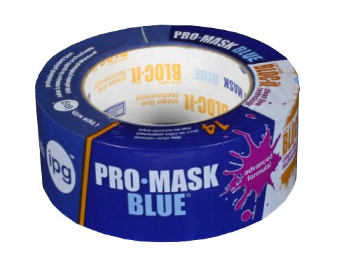 IPG ProMask Blue with BLOC-It  Premium Masking Tape, 1.88