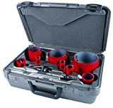 MK Morse MHS16P Bi-Metal Hole Saw Plumber Kit, 16-Piece
