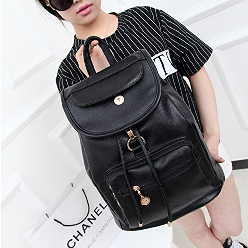 College Leather Travel for Backpack Purse PU Women Girls Teen Backpack Daypacks function Multi x4Spxwq6