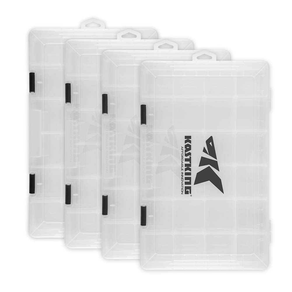 KastKing Tackle Boxes,Four 3700 Trays, 14x8.25x1.75 Inches by KastKing