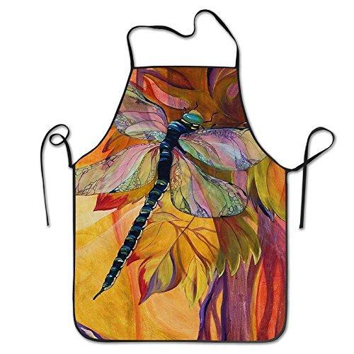 - Vineyard Fantasy Dragonfly Adjustable Apron For Grilling Bacon Women's Men's Great Gift For Wife Ladies Men Boyfriend