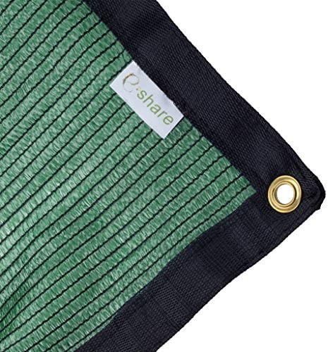 e.share 70 Green Shade Cloth Taped Edge with Grommets 20 ft X 48 ft