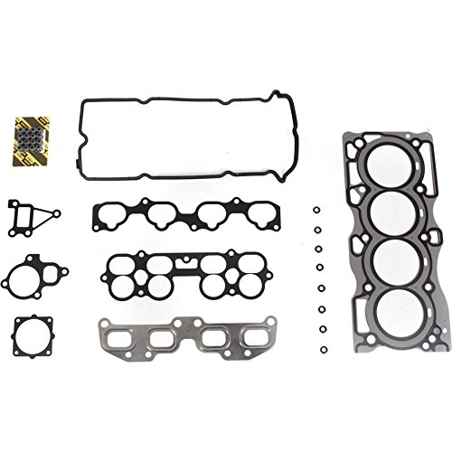 Evan-Fischer EVA12372046017 Cylinder Head Gasket Set for Nissan Altima 02-06 Multi-Layered Steel QR25DE GAS FI DOHC (Cylinder Nissan Gaskets)