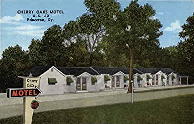 Cherry Oaks Motel Princeton, Kentucky Original Vintage Postcard
