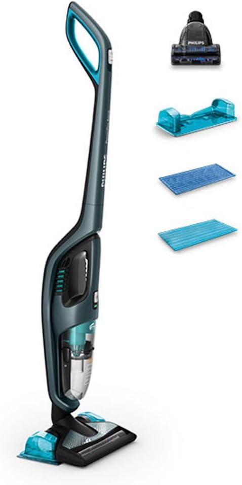 Philips PowerPro Aqua FC6409/01 Aspiradora de palo y escobas eléctricas sin bolsa 3 in 1