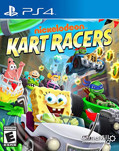 Nickelodeon Kart Racers - PlayStation 4 (Best Arcade Games On Ps4)