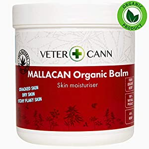 Vetercann Hemp for Pets Mallacan Organic Hemp Balm...