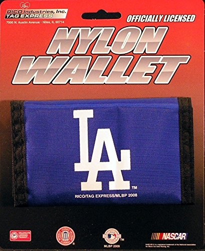 Dodgers Royal Nylon Tri Fold Wallet product image