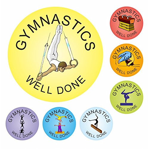 - Gymnastics Praise Stickers - Clubs, sports, athletics