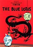 Front cover for the book The Blue Lotus by Hergé
